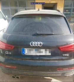 Autoturism furat în Germania, găsit la Chișineu-Criș