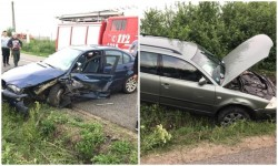 """Bărbatul de 73 de ani care a produs accidentul de luni dintre Fântânele şi Frumuşeni are plângere penală din partea fostei soţii cu 5 """"capete de acuzare"""""""