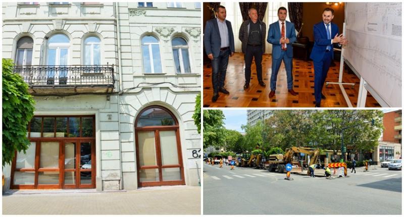 Peste 50 milioane de euro investiţi în zona centrală a Aradului