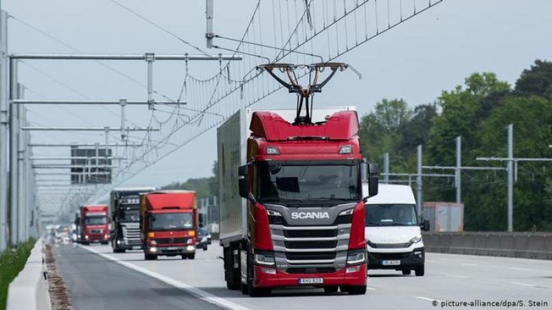 S-a deschis prima autostradă electrificată din Germania