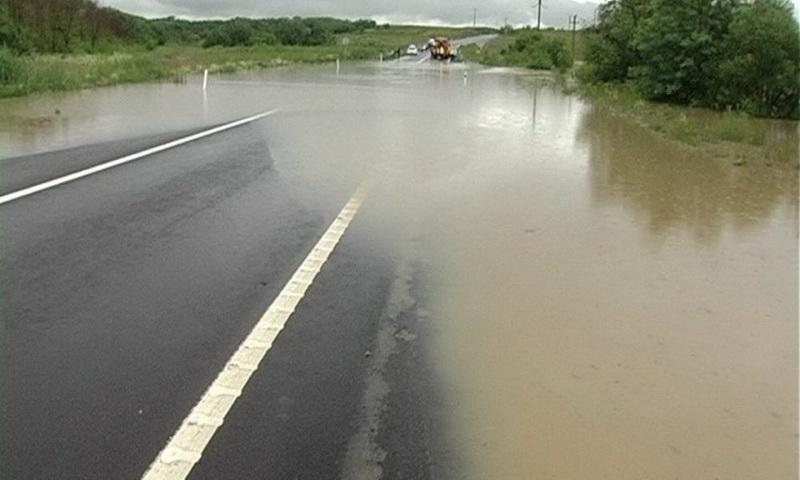 Cod Galben de inundații pentru judetele Arad și alte trei județe din vestul țării