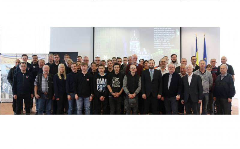 Delegaţie germană în vizită la Consiliul Judeţean Arad