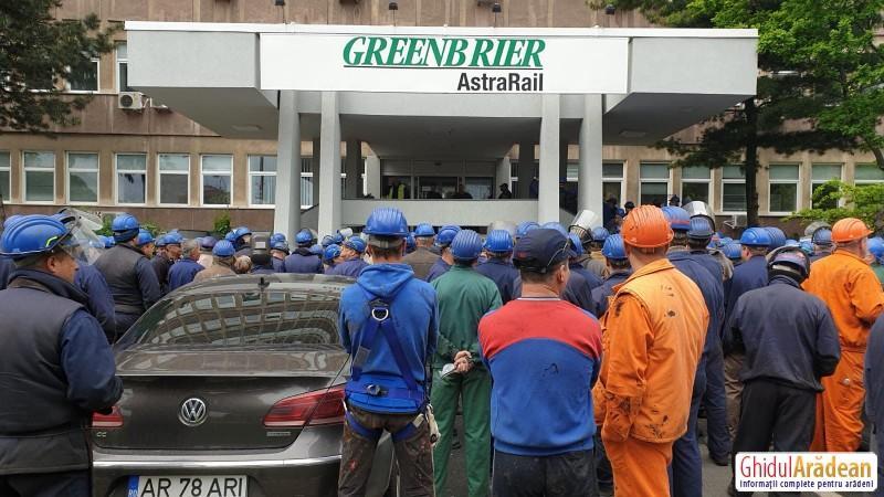 Grevă la Astra Rail Industries. Muncitorii - amenințați cu închiderea fabricii