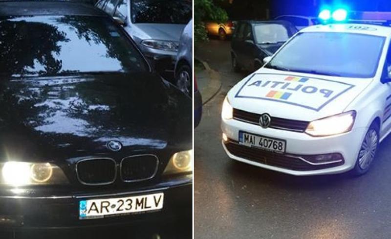 Un arădean a fost blocat în trafic chiar de un polițist de la rutieră, aflat în timpul liber