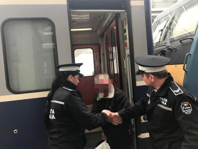 Bărbat din Ilfov dat dispărut a fost găsit de poliţiştii locali și ajutat să se întoarcă acasă