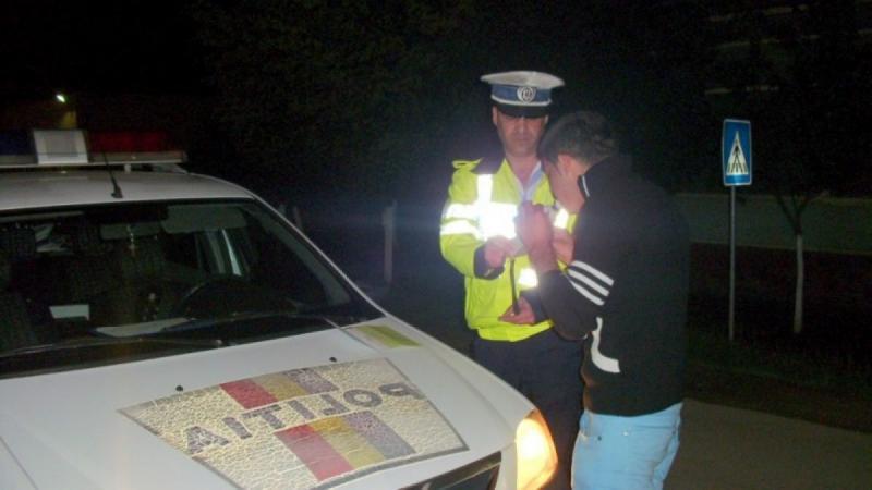Pericol public pe drumurile din județul Arad. Șoferi băuți sau fără permis de conducere