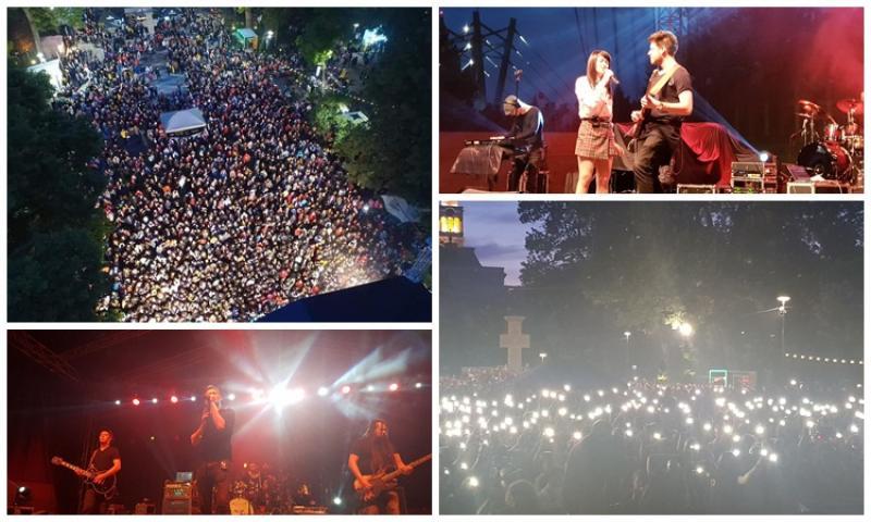 """""""Motanii"""" au electrizat atmosfera în Parcul Eminescu în a doua seară a Festivalului Berii"""