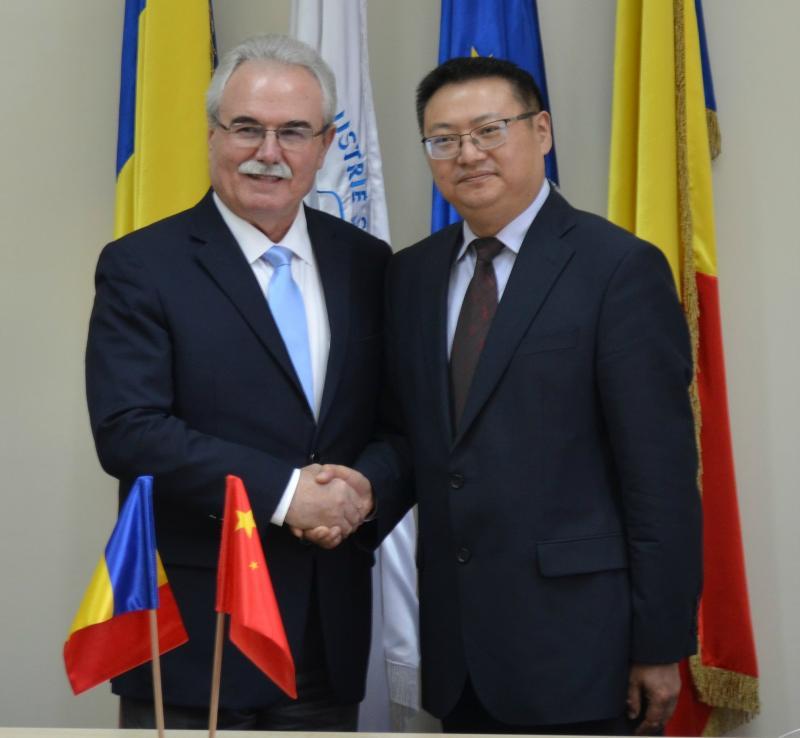 Parteneriat între Arad şi Changzhou