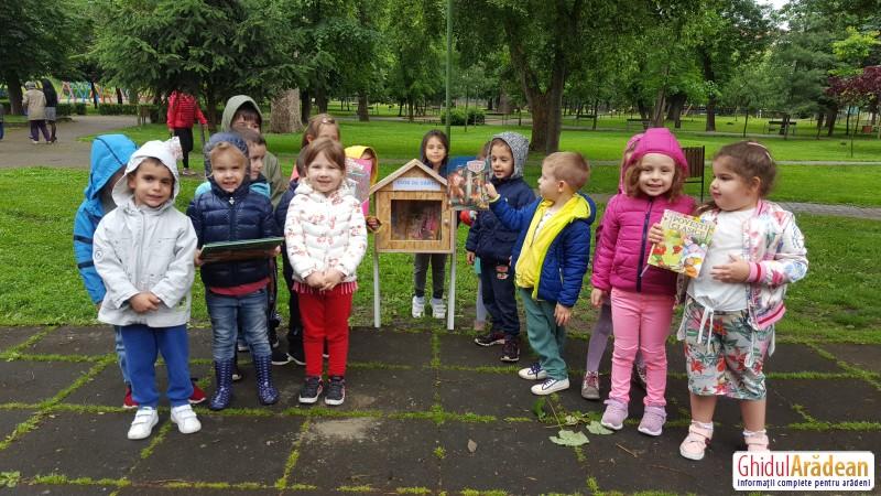 """""""Cuibul de cărți"""", un proiect realizat de Grădinița Bambi în parteneriat cu Primăria Municipiului Arad"""