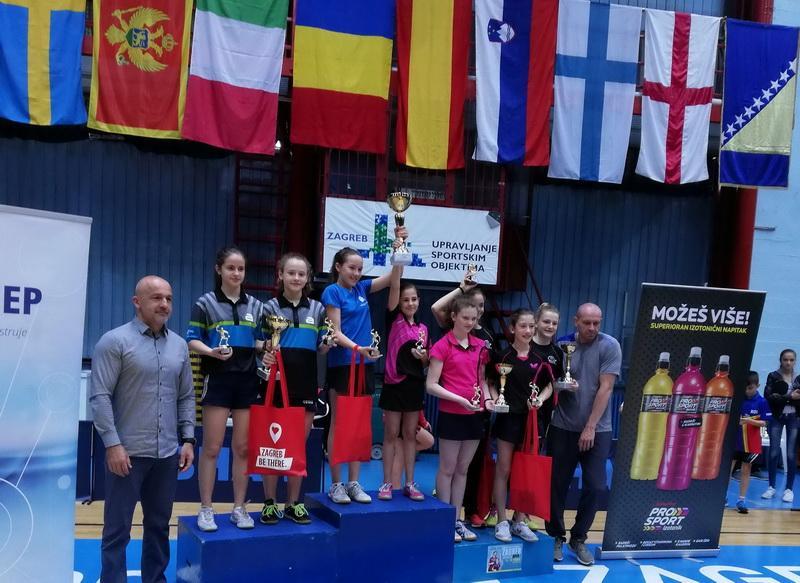 Speranţele tenisului de masă au avut concurs în Croaţia