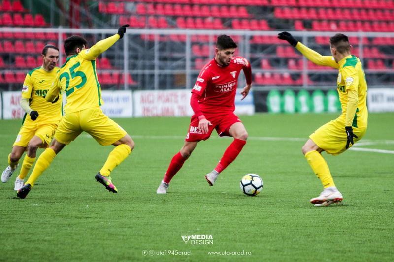 """UTA merge la Mioveni pentru ultimul meci al sezonului. Păcurar: """"Jucăm cu o echipă care poate învinge pe oricine"""""""