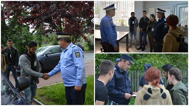 Job Shadow Day la Jandarmeria Arad