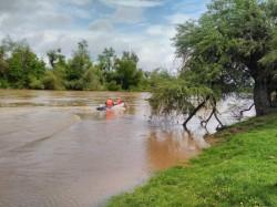 Căutările în apele râului Mureș, a bărbatului de 64 de ani continuă cu dificultate