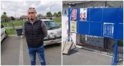 A început campania electorală, au început și vandalizarea materialelor electorale. Arădean amendat pentru distrugerea unor afişe