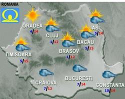 VEZI cum va fi vremea în weekend
