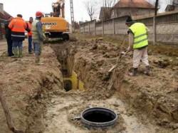 Final de contract pentru reţelele de apă şi canalizare din Ineu, Pâncota, Şiria şi Galşa