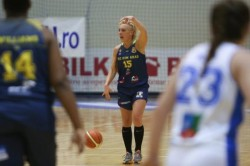 Debut cu succes în lupta pentru medaliile de bronz: Olimpia CSU Brașov - FCC ICIM Arad 75-83
