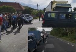 Persoană grav rănită în urma unui accident rutier pe drumul Arad-Deva