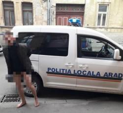 Tânăr fără chiloți alergând pe străzile municipiului și alte zeci de contravenţii într-un singur weekend