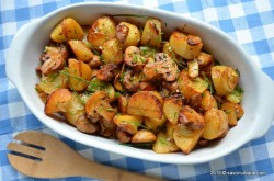 O rețetă delicioasă și rapidă cu cartofi noi