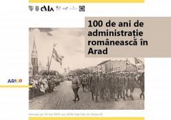 Joi 16 mai, de la ora 17:00 la Sala Clio are lor vernisajul expoziției 100 de ani de Administrație Românească în Arad