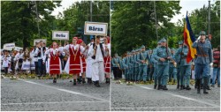 Finalul manifestărilor dedicate centenarului administrației românești, marcat de parada din centrul orașului
