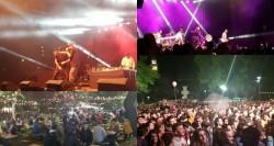 Parcul Eminescu asaltat de arădeni în prima zi a Festivalului Berii