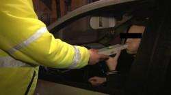 Șoferi băuți sau fără permis auto, pe drumurile din județul Arad. Peste 500 de amenzi într-un singur weekend
