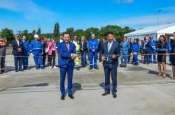 Cel mai mare centru de distribuție carburanţi din vestul României, inaugurat la Arad