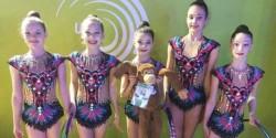 Junioara Alenia Biringer a debutat la Europeanul de ritmică
