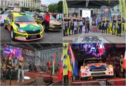 Start festiv plin de culoare la Raliul Aradului 2019