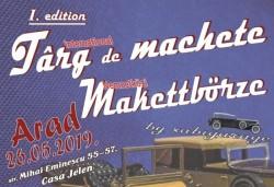 Târgul de machete își așteaptă iubitorii de artă, la prima ediție