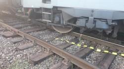 O locomotivă a deraiat, duminică, în Milova