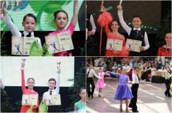 Școala de Dans Royal Steps se întoarce încărcată de medalii de la Cupa Feeling Dance Oradea