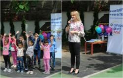 DAS Arad a sărbătorit Ziua Internațională a Copilului la Complexul Curcubeu
