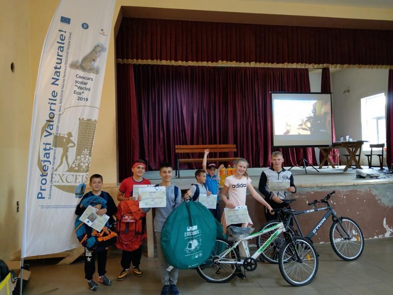 Concursul școlar VeciniEco 2019 și-a premiat câștigătorii