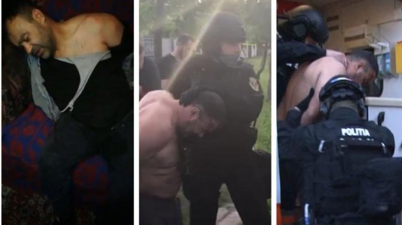 Ucigașul polițistului, operat de urgenţă, imediat după ce a fost prins