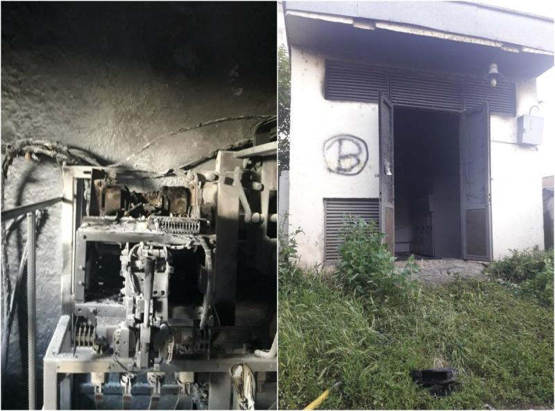 Un alt incendiu a izbucnit în zona Intim
