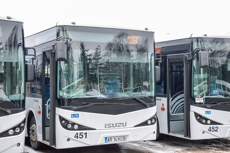 O linie de transport public din municipiu este astăzi deviată