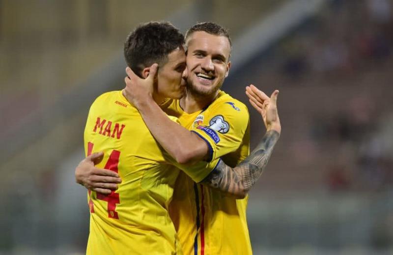 """Primul gol pentru Man la """"naționala mare""""! România învinge în Malta cu 4-0 și revine în calculele calificării"""