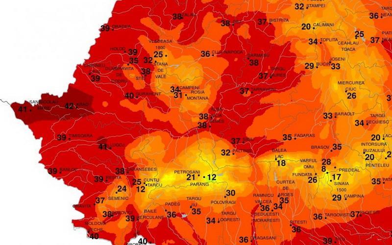 """Vestul ţării """"fierbe"""" !"""