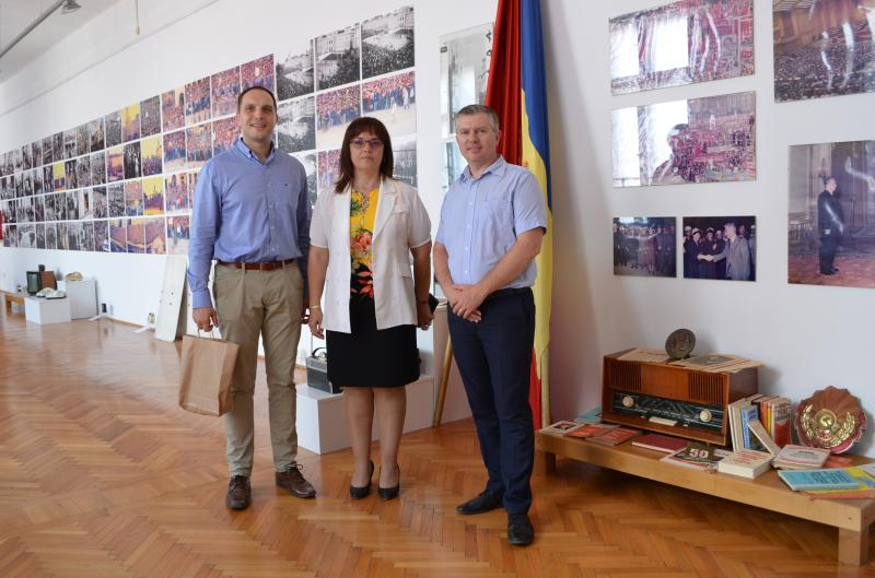 "Parteneriat cultural prin Universitatea ""Aurel Vlaicu"" din Arad"