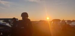 Au ajuns noi întăriri, printre care și polițiști arădeni, pentru forțele de intervenție care îl caută pe criminalul polițistului în misiune lângă Timișoara
