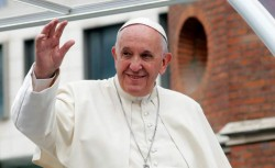 "Papa Francisc: ""N-am văzut niciodată ceva mai minunat"""