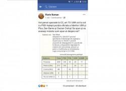 USR a votat pensii speciale cot la cot cu PSD
