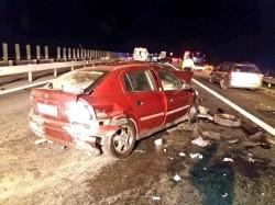 GRAV accident de circulație miercuri noaptea pe A1