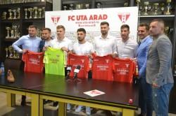 """UTA și-a prezentat primele cinci achiziții din această vară! Golgheterul ligii secunde și cel mai bun portar al sezonului vor evolua în """"alb-roșu"""""""