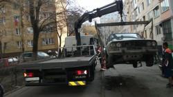De astăzi se poate accesa harta maşinilor abandonate sau fără stăpân