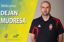 Sârbul Mudreša, noul antrenor al FCC Baschet Arad