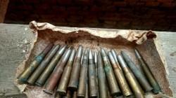 Au fost descoperite 24 de cartușe de infanterie, în podul dispensarului din Agrișu Mare
